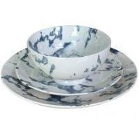 Buy cheap Marble Texture Ceramic Tableware Set With Bowl,Dinner Plate,Side Plate product