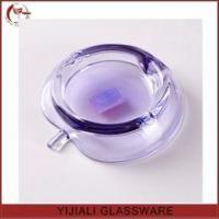 colored cheap apple shaped glass ashtray