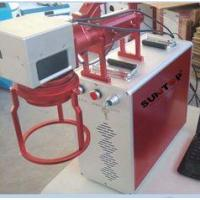 Buy cheap Hand Held Portable Fiber Laser Marking Machine For Meta Products Processing 20w product