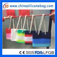 Beach Bag summer colorful silicone beach bag