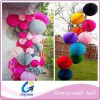 Buy cheap decoration party honeycomb paper ball product
