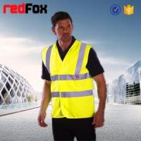Buy cheap quilted security red safety vest from wholesalers
