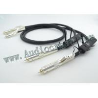 Buy cheap AudioCrast AQ Wel Signature RCA Audio Interconnect with 72V DBS product