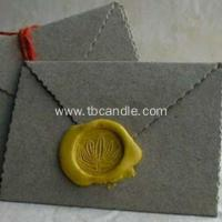 China Envelope adhesive faux wax seal stickers on sale