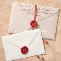 China Wax seal wedding invitation embossed seal stickers on sale