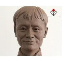 China Chinese Entrepreneurial Leader Celebrity Clay Draft Statue Ma Yun on sale