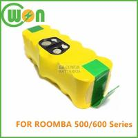 Buy cheap 14.4V Battery for iRobot Roomba: 510,530,535,540,550,560,570,580,610 Professional Series product
