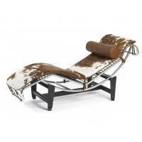 Buy cheap Cowhide/ponyskin furniture Le Corbusier LC4 chaise lounge chair product