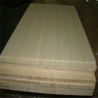 Buy cheap Natural Colour and Vertical Pressed Bamboo Slabs as Furniture Facing product