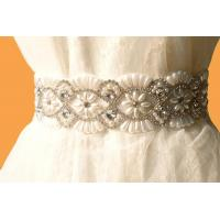 Buy cheap Bridal Accessories / Crystal Rhinestone Bridal Sash / Vintage /Royal Steyle product