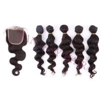 Buy cheap 5bundles/lot Fantasy hair best virgin hair silky straight can be curled product