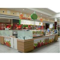 High quality fruit juice kiosk mall for sale-L