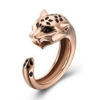Buy cheap Cartier Panthere de Cartier Ring in Pink Gold with Onyx Lacquer Garnet product