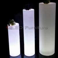 Buy cheap Tall led cylinder/pillar light product