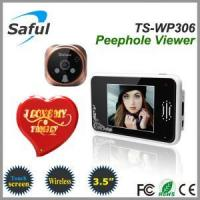 Buy cheap wireless digital door viewer Saful TS-WP306 2.4GHz Digital Wireless Peephole Viewer product