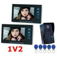 Buy cheap TS-806MJIDSN12 7inch Color LCD Screen Wired Video Intercom With Door Access Control System product