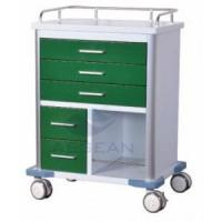 Buy cheap AG-GS006 best price!Dark Green series green garden cart with wheels product