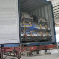 Buy cheap The corrugated steel culvert pipe in cotaniner ready for ship product