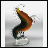 China Art murano handicrafts glass horse animals on sale