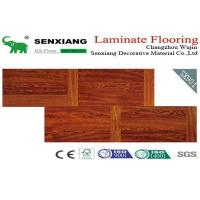 China Stagger Pattern Good Decorative Laminate Wood Flooring on sale