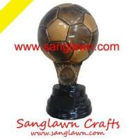 Buy cheap S3001 Football resin gifts Metal Crafts product