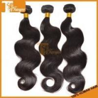 Buy cheap 6A Brazilian Virgin Hair Body Wave 3pcs Lot Remy Human Hair Extensions product