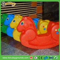 Buy cheap Classic Horse Shape Plastic Rider Rocking Toy product
