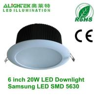 Buy cheap 6inch dimmable led downlight 20W product