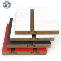 China 18mm slotted mdf board on sale