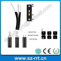 Buy cheap FTTH Solution 2-12cores FTTH Fiber Optical Cable product