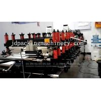 Buy cheap Double Output Quad Flat Bottom Pouch Bag Making Machine product
