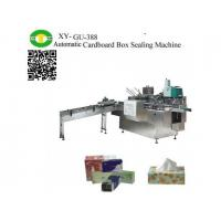 Buy cheap Automatic Facial Tissue Paper Cardboard Packing Machine product