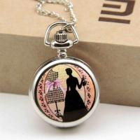 China Lady shadow chain watch antique on sale
