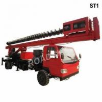 Buy cheap Roadsky Truck Mounted Screw Drilling Rig product