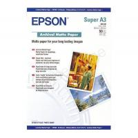 Buy cheap Epson A3+ Archival Matte Paper 50 Sheets 192gsm White Ref C13S041340 *3 to 5 Day Leadtime* from wholesalers