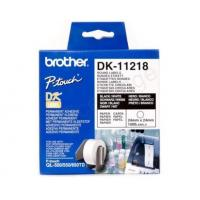 Buy cheap Brother P-Touch DK-11218 24mmx24mm Round Labels 1000 Labels Ref DK11218 *3 to 5 Day Leadtime* from wholesalers