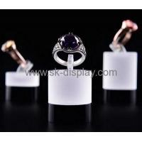 Quality Custom design acrylic perspex stands jewellry display ring display stand JD-107 for sale