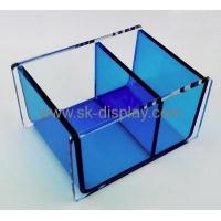 Buy cheap Hot selling transparent acrylic box tissue paper box blue box DBS-123 from wholesalers