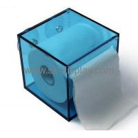 Buy cheap Factory direct sale square acrylic box small box facial tissue wall mount box DBS-121 from wholesalers