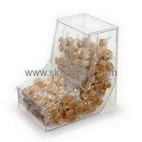 Buy cheap Top quality L shape food grade acrylic candy box FD-061 from wholesalers