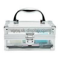 Buy cheap Acrylic square beauty case with handle CO-038 from wholesalers