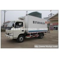 Dongfeng Jinba wide medical waste transport vehicle
