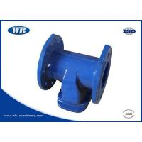 China Valve Series Ductile iron tee on sale