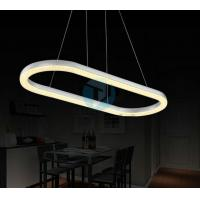 China Creative Oval Acrylic Contemporary Lighting Led Lamps on sale