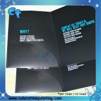 Buy cheap Paper Folder with pocket and business card holder product