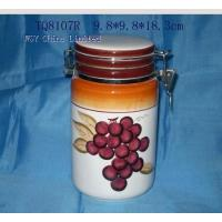 TQ8107R Stoneware Decal Printing Food Container(TQ8107R) for sale