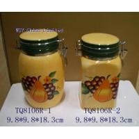 TQ8106R-1-2 Stoneware Decal Printing Food Container(TQ8106R-1-2) for sale