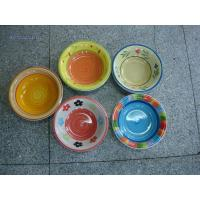 WSY131S Stoneware Glazed Hand-painted bowls(WSY131S) for sale
