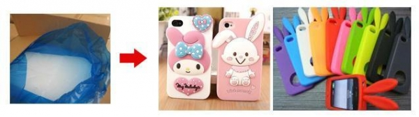 Quality Mobile Phone Cover Silicone Rubber for sale