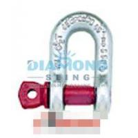 Buy cheap G210 Chain Shackles Screw Pin High Tensile Forged Alloy product